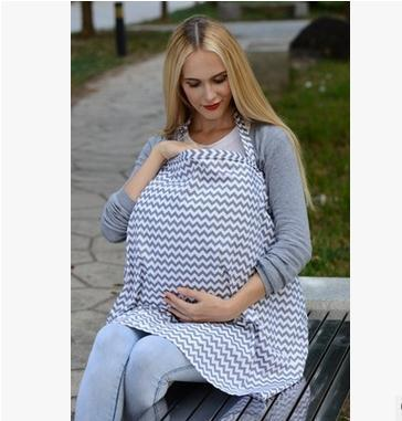 Bebé Lactante Cubierta Cubierta de La Lactancia Materna Enfermería Multifuncional Bufanda Cubierta Lactancia Delantal De Enfermería Del Cabo