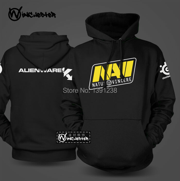 Exclusive original design Ukraine NAVI DOTA 2 Bunch of Heroes teams fleece pullover Sweater hoodies winter autumn tracksuits