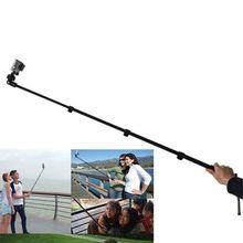 Yunteng Monopod do Selfie Stick 188, czarny, na aparat telefon, pasuje do gopro hero 3 +/3/2/1