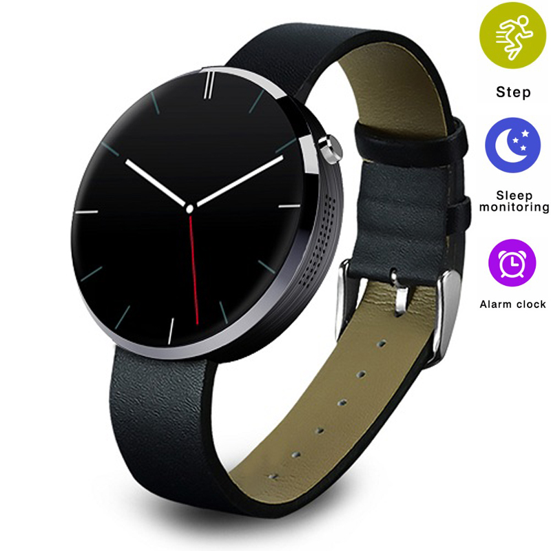 Smartwatch Bluetooth Smart Watch DM360 IPS High-definition LCD Heart Rate Monitor Fitness Tracker Smartwatch for IOS Andriod lemfo dm360 smart watch wearable devices bluetooth smartwatch heart rate monitor pedometer fitness tracker for ios android hot