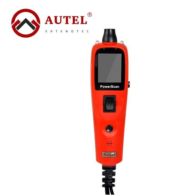 Оригинал Autel PS100 Автомобиль Электрическая Система Диагностический Инструмент Цепи Тестер Встроенный Фонарик Соединение OBD II