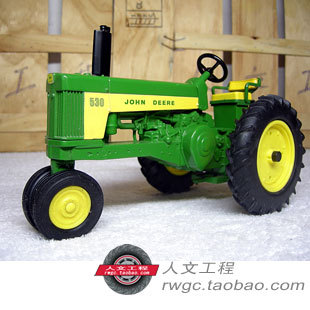 KNL HOBBY J Deere 530 tractor agricultural vehicle model alloy ornaments wine rack US ERTL 1:16