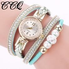 CCQ Brand Women Rhinestone Watch Ladies Luxury Quartz Watches Casual Fashion