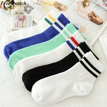 FREE OSTRICH Harajuku Funny Socks Women Different Colors Female Cute Sock Women Designed School Students Korean Style(China)
