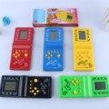 Juego de Tetris, Favorito de la infancia Juguetes Electrónicos, Blanco y negro Juegos De Palma, rompecabezas Juguetes