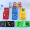 Tetris Game, Childhood Favorite Electronic Toys, Black and White Palm Games, Puzzle Toys