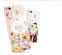 Горячий Новый Xiaomi Redmi 4x Роскошные 3D Мягкие Силиконовые Милосердия Case Задняя Крышка Телефон Case Для Xiaomi Redmi 4 х 5.0″