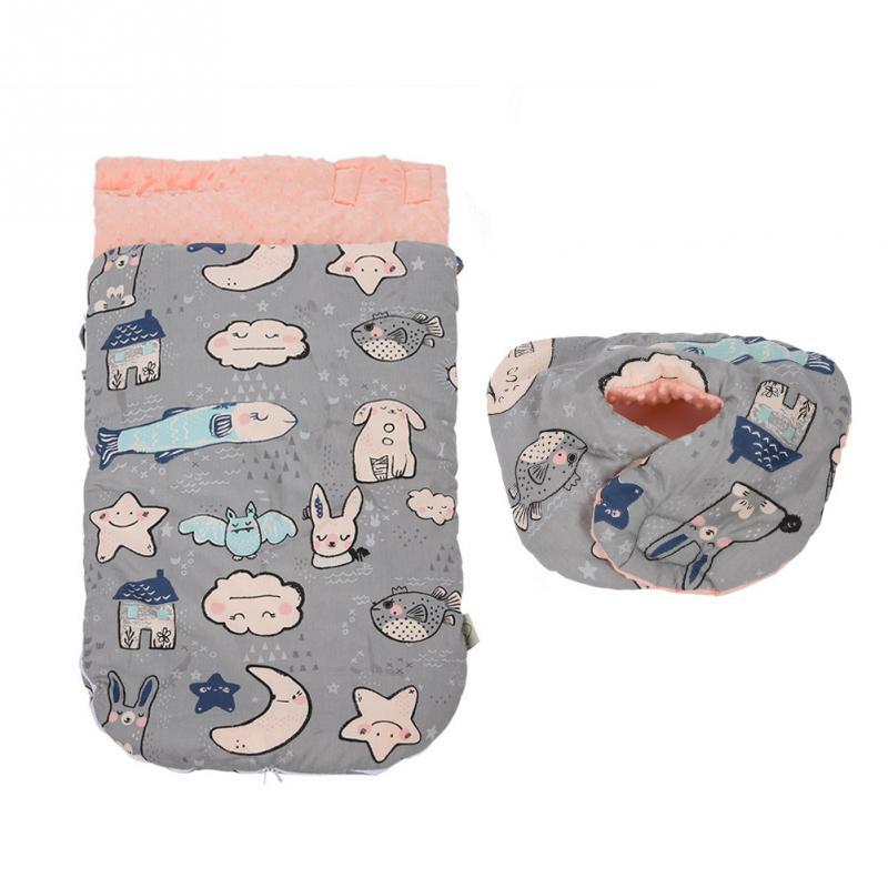 Спальная одежда для новорождённых малышей 0-3 лет удобные мешки из чистого хлопка для сна детское Пеленальное Одеяло и пеленание зима - Цвет: Серый
