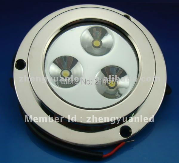 3X2W LED marine light/yacht light/ boat underwater light