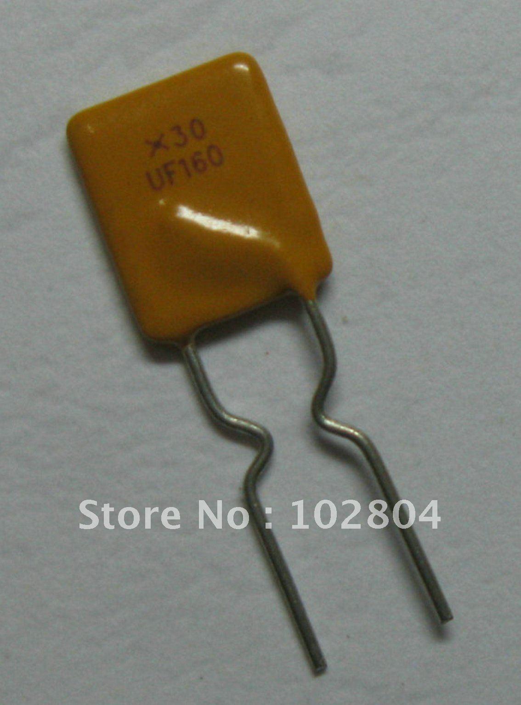 300 шт. 30 в 1.6A PolySwitch радиальный этилированный восстанавливаемый предохранитель PPTC