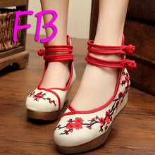 Ethnic Wedding Shoes Tang Embroidered Chinese High Heels. US  19.94   Pair Free  Shipping de5f8bf555bb