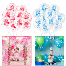 FENGRISE Birthday Party Decorations Kids Latex Balloons Happy Birthday Balloon Baby Shower Baby Girl Party Favors Baloon Ballons цена и фото