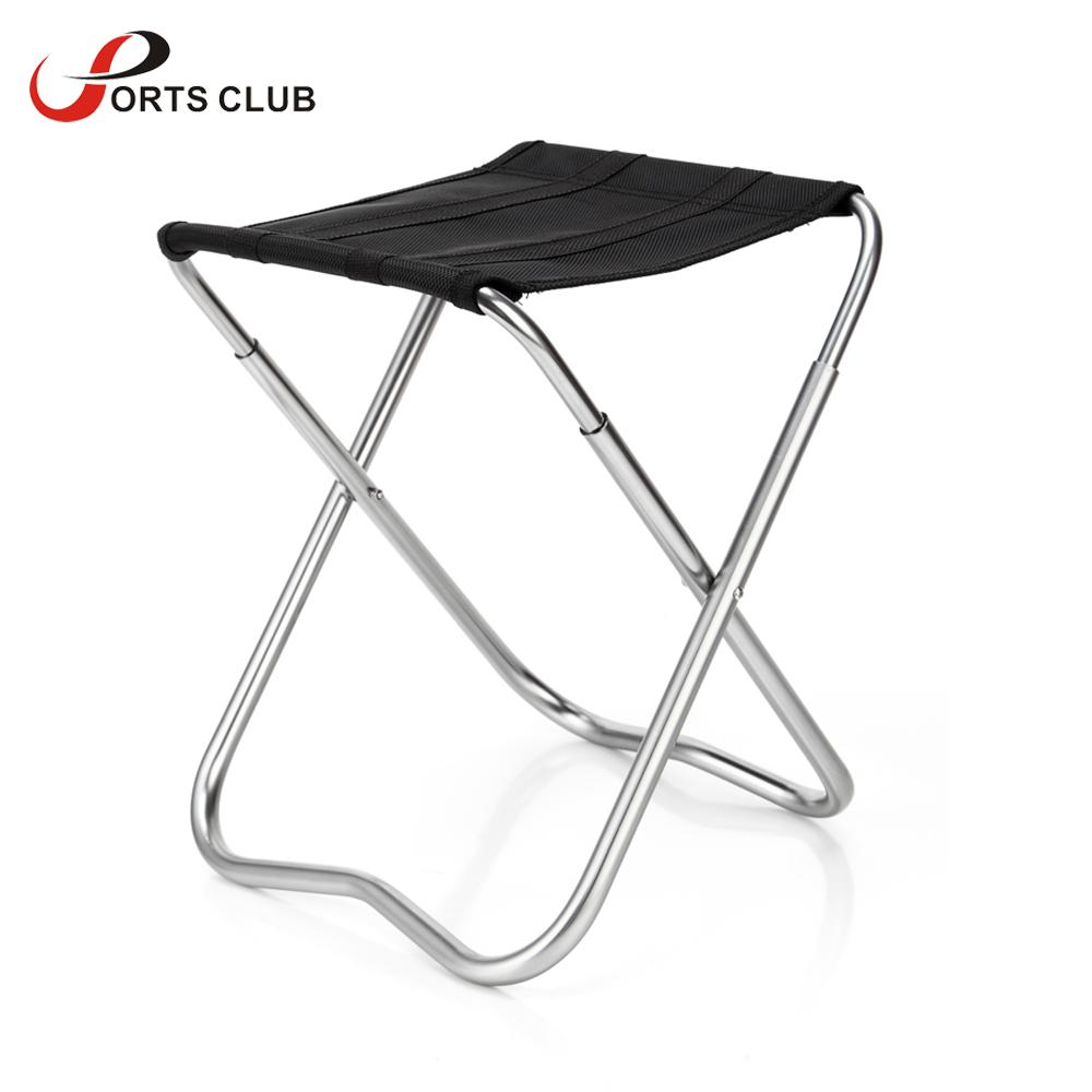 Portable Folding Chair Seat Stool Aluminum Alloy Fishing Chair Outdoor Camping Chair Fishing Stool China