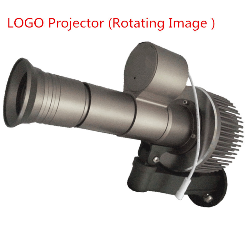 Custom Projection Advertising light LED 20W30W35W 12000 Lumens Waterproof Logo Rotating Dynamic with 3 color Gobo lens 110V 220V cheap 10w led ceiling mounted gobo projection projecteur logo advertising custom advertising projector light