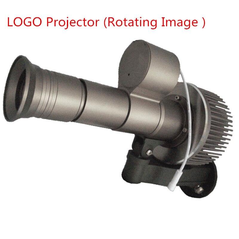 La lumière faite sur commande de la publicité de Projection LED 20W30W35W 12000 Lumens imperméabilisent le Logo tournant dynamique avec la lentille de Gobo de 3 couleurs 110 V 220 V