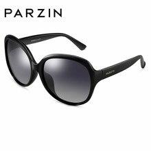 PARZIN Oval mujeres polarizadas gafas de sol moda diseñador tamaño grande  del todo-fósforo calidad 06f75231dd12