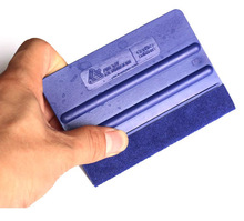 High quality car wrap scraper Avery Dennison brand squeegee 7*10cm blue bondo Squeegee
