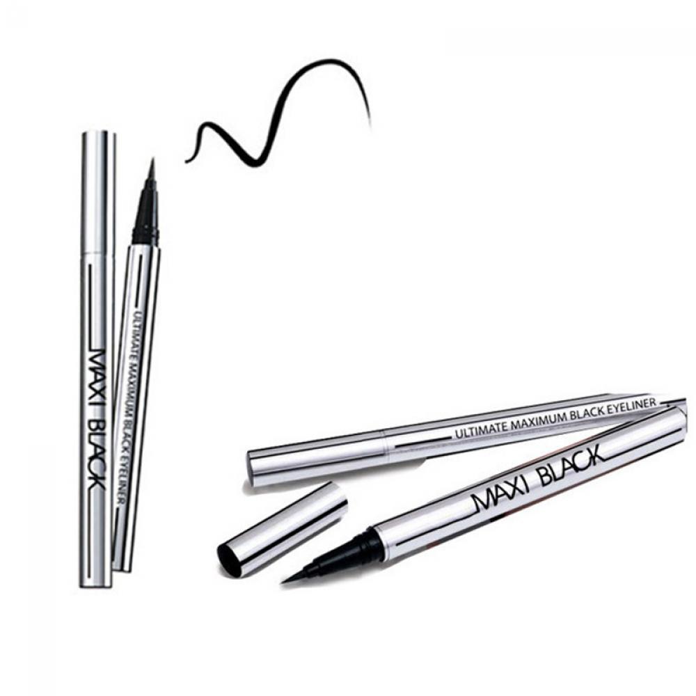 1PC Professional Women Ultimate Black Liquid Eyeliner Long-lasting Waterproof Quick-dry Eye Liner Pencil Pen Makeup Beauty Tools 2