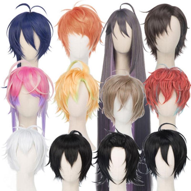 Cosplay Wig Division Rap Anime Ichiro Yamada Hypnosis Mic Jiro Battle Saburo Jakurai