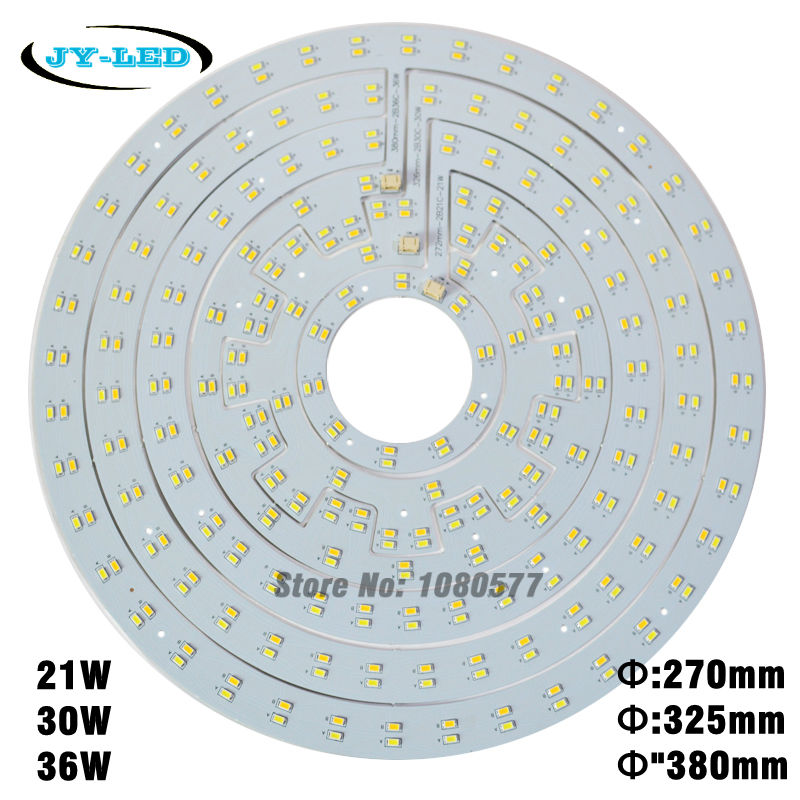 21W 30W 36W Double Color Ceiling Light Board LED Panel SMD5730 White/Warm White/Nature White + Magnet Screw + LED Driver 28w x2 smd 5730 ceiling light pcb retrofit magnet board led ring light panel remoulding plate with driver and magnet screw