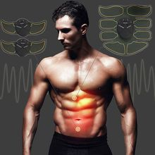 Fat Burning Stimulator Slimming Shaper Machine Abdominal Muscle Exerciser Training Body Building Vibration Fitness Massager недорого