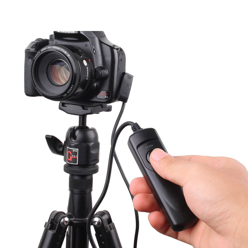 Camera Remote Control Shutter Release Switch RS-60 E3 for Canon 60D 70D 80D 550D 600D 700D 750D 760D G16 G1X Mark II SX60 HS