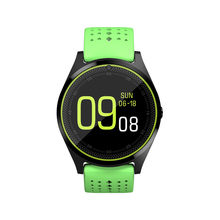 Smart Watch V9 with 2G SIM/ TF Card Camera Battery 380mAh Bluetooth Smartwatch women MP3 player for Android phone pk KW18 DZ09(China)