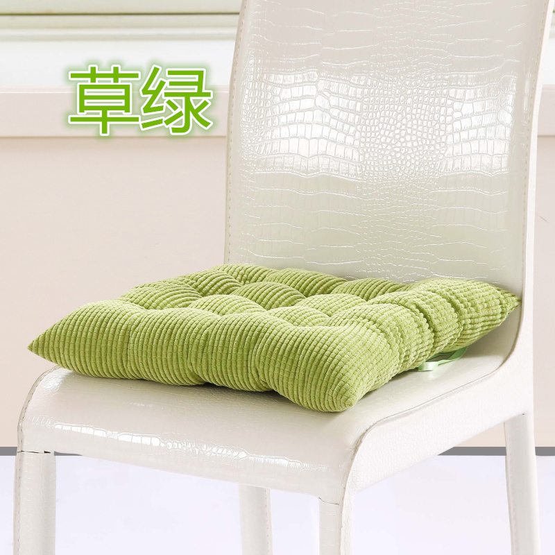 40X40CM Corduroy Chair Cushions For Kitchen Chair Solid Color Seat Cushion  Square Floor Cushion Machine Washable Chair Office  In Cushion From Home U0026  Garden ...
