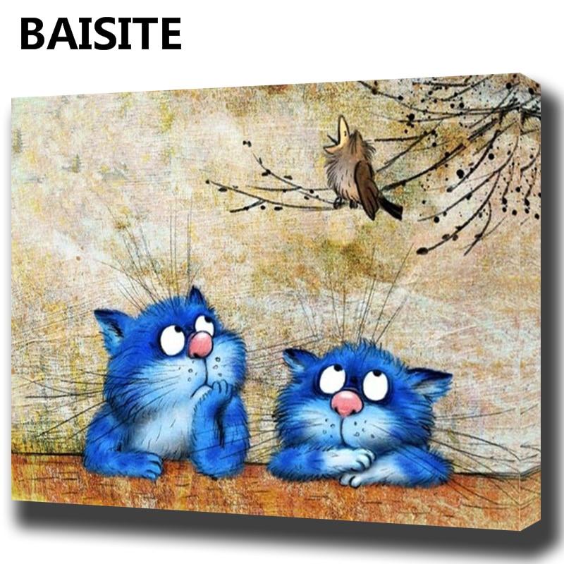Baisite DIY pintura al óleo enmarcada por números flores cuadros ...