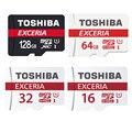 TOSHIBA Карта Micro Sd 16 ГБ/32 ГБ/64 ГБ/128 ГБ Класс 10 SDHC/SDXC 48 МБ/С. Карты памяти UHS1 Ультра Высокая Скорость Реальная Емкость