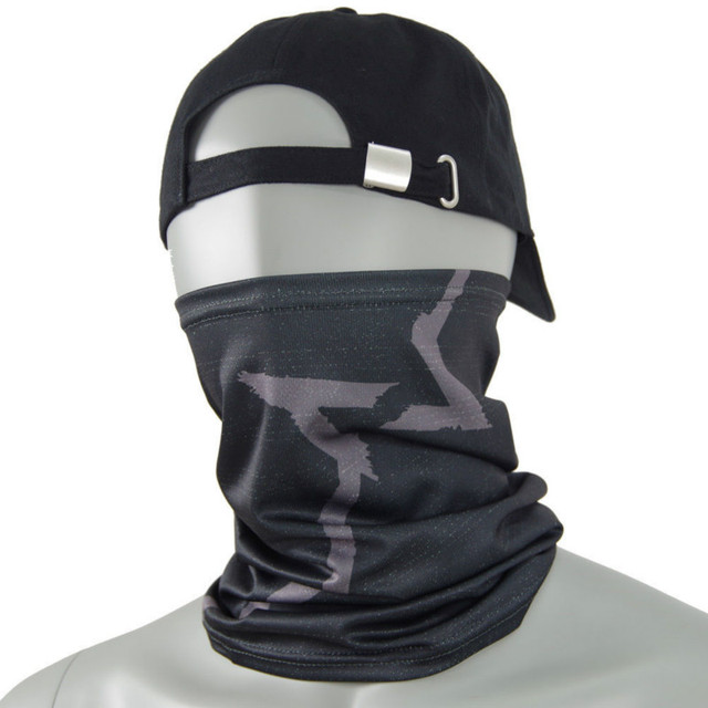 Watch Dogs Face MASK + CAP Hat Aiden Pearce Costume Cosplay Scarf Top Sale 2