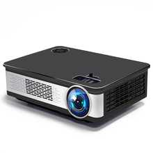 "Get more info on the Home Theater Projector Full HD 1080P 150"" Big Screen LED 3500 Lumen Overhead Beamer Maltimedia LCD Proyector Support 4K TV box"