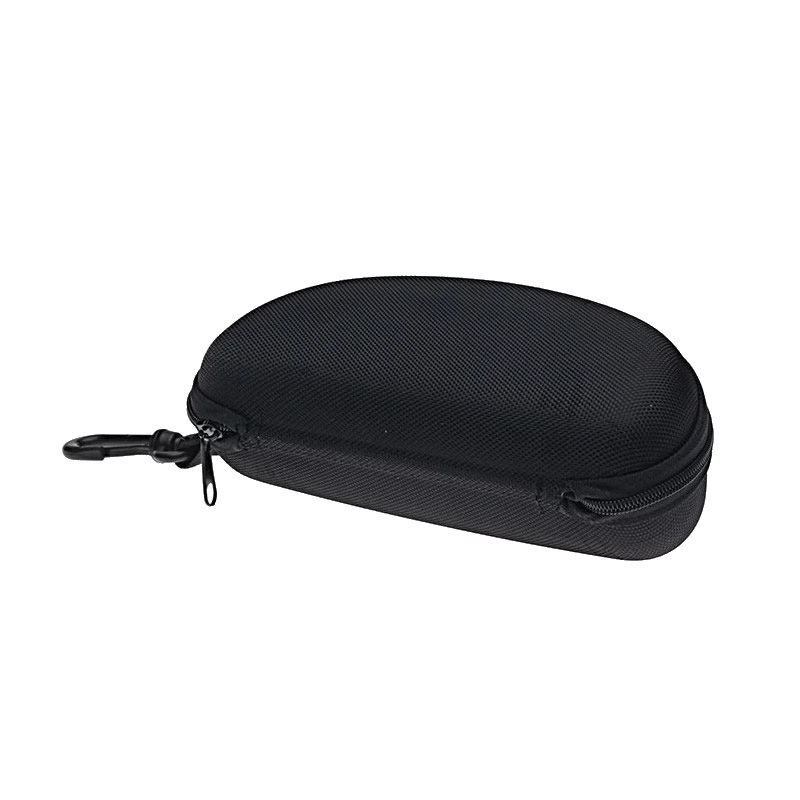 Safety Glasses Case POUCH Protector Safety Black Zipper Spectacles