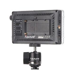 Image 4 - New Aputure Amaran AL F7 On Camera LED light Color Temperature 3200 9500K CRI/TLCI 95+ Led Panel Most Versatile