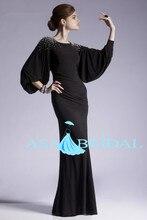 Fashion 2015 Caftan Burgundy Hijab Underscarf Dubai Moroccan Kaftan Muslim Evening Dress Long Sleeve Maxi Dress(MUSL-1088)