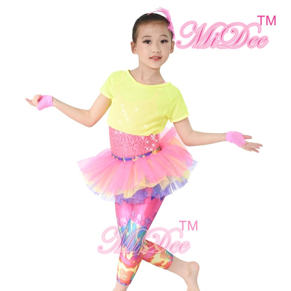 MiDee Hip Hop Dancewear Jazz deporte gimnasia Cheerleaders Cheer ...
