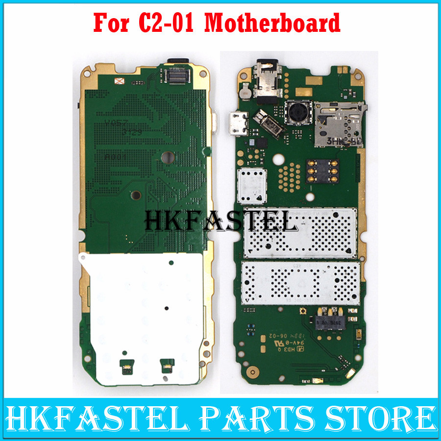 For Nokia C2 01 Motherboard replace Mobile Phone Motherboard + With russian language With Free Tools  Free Shipping|Mobile Phone Housings & Frames| |  - title=