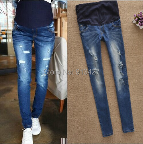 Aliexpress.com : Buy Best Selling Maternity Elastic Waist Jeans ...