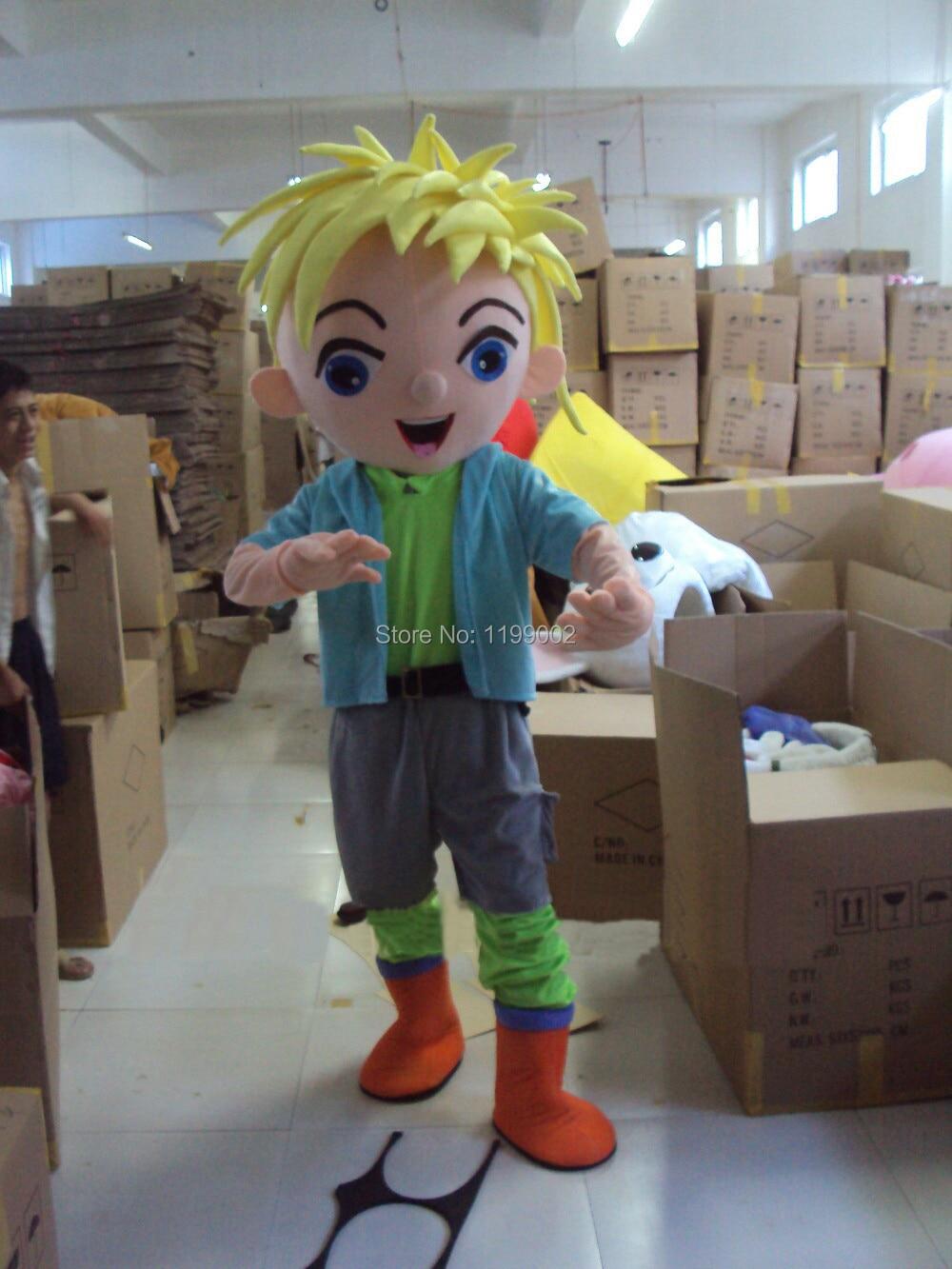 2014 hit pretty boy mascot costume dress;Free shipping!