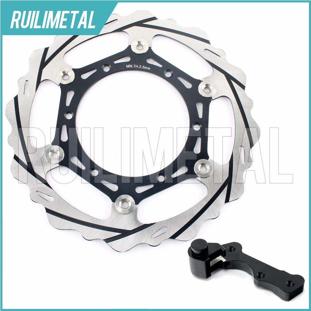 270mm oversize Front Brake Disc Rotor Bracket Adaptor for YAMAHA YZ 125 250 F 450 2008 2009 2010 2011 2012 2013 2014 2015 high quality 270mm oversize front mx brake disc rotor for yamaha yz125 yz250 yz250f yz450f motorbike front mx brake disc