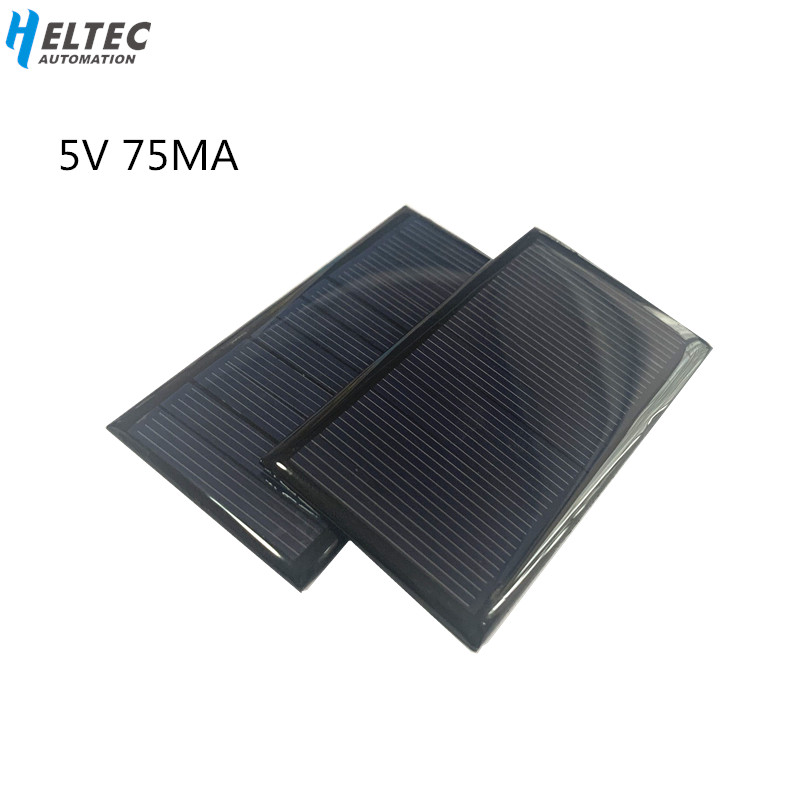 1pc Mini Mono 80*45MM Solar Panel 5V 75MA For Mini Solar Panel Charging And Generating Electricity
