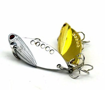 5Pcs Mixed Model Metal VIB Lures 5cm 10g Vibrations Spoon Lure Fishing bait Bass artificial bait cicada lure vib bait