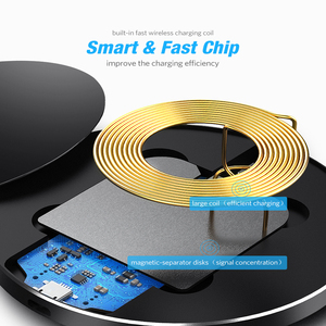 Image 3 - DCAE Qi Wireless Charger For iPhone 11 Pro 8 X XR XS Max QC 3.0 10W Fast Wireless Charging for Samsung S10 S9 S8 USB Charger Pad