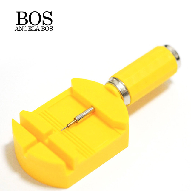 BOS Watch Strap Repair Tool Watch Accessories Repair Tool Kit Cut Down Strap Pin Remover Adjust Stainless Steel Watch Band Tools