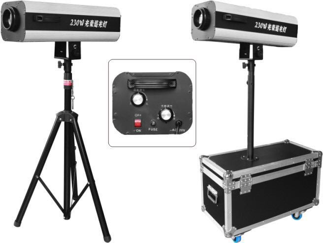 Dj party 230W 7r beam follow spot disco light inculd the holder and flight case beam distance 25M for wedding bar ktv night club chauvet dj beam bar