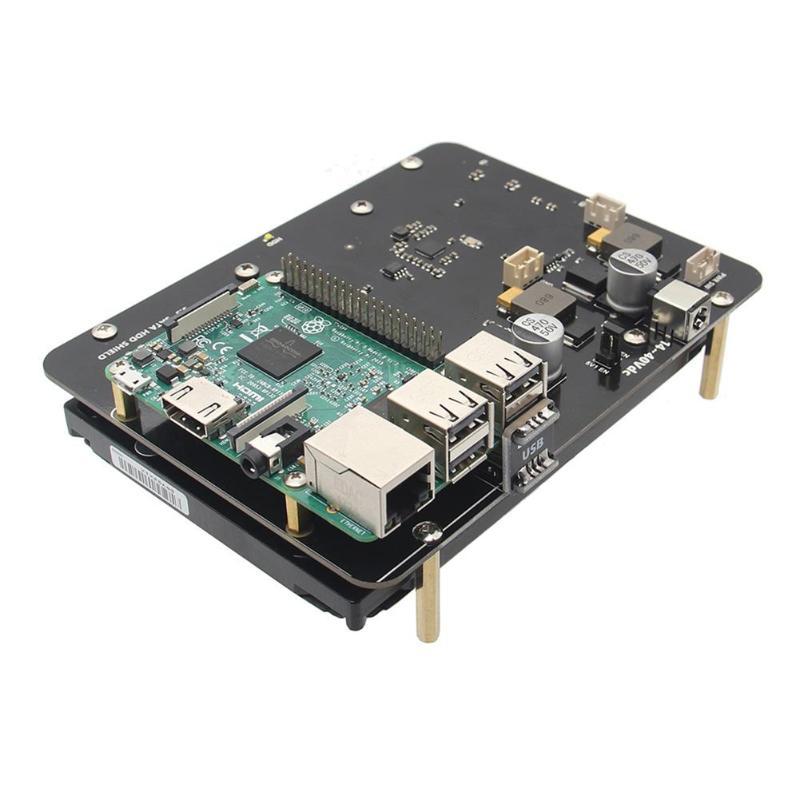 X830 SATA 3.5 pouce HDD Disque Dur Stockage Carte D'extension pour Raspberry Pi 3