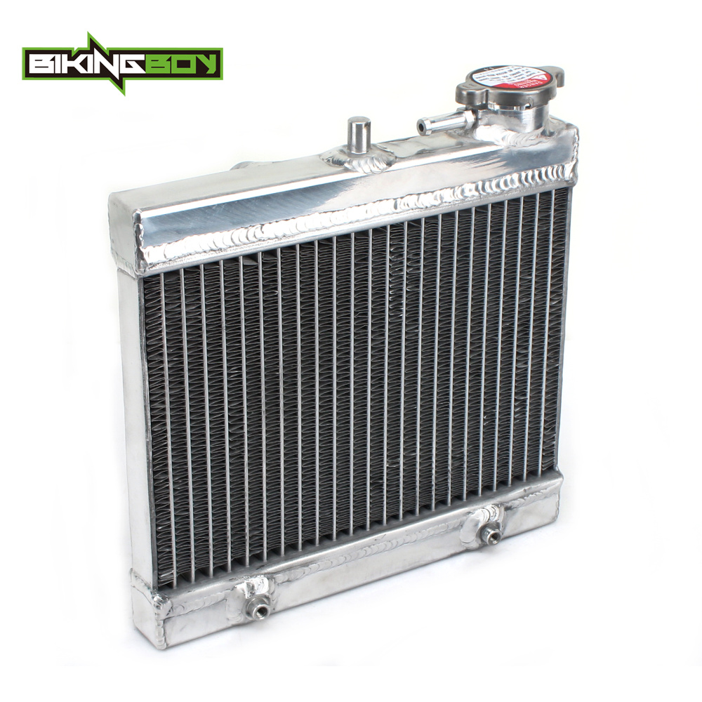 BIKINGBOY Aluminium Core MX Offroad Motorcycle Engine Radiator Water Cooler Cooling for KTM FREERIDE 250R 350 2014 2015 2016 motorcycle radiator for honda jade250 jade 250 cb250 cb 250 aluminium water cooling radiator new