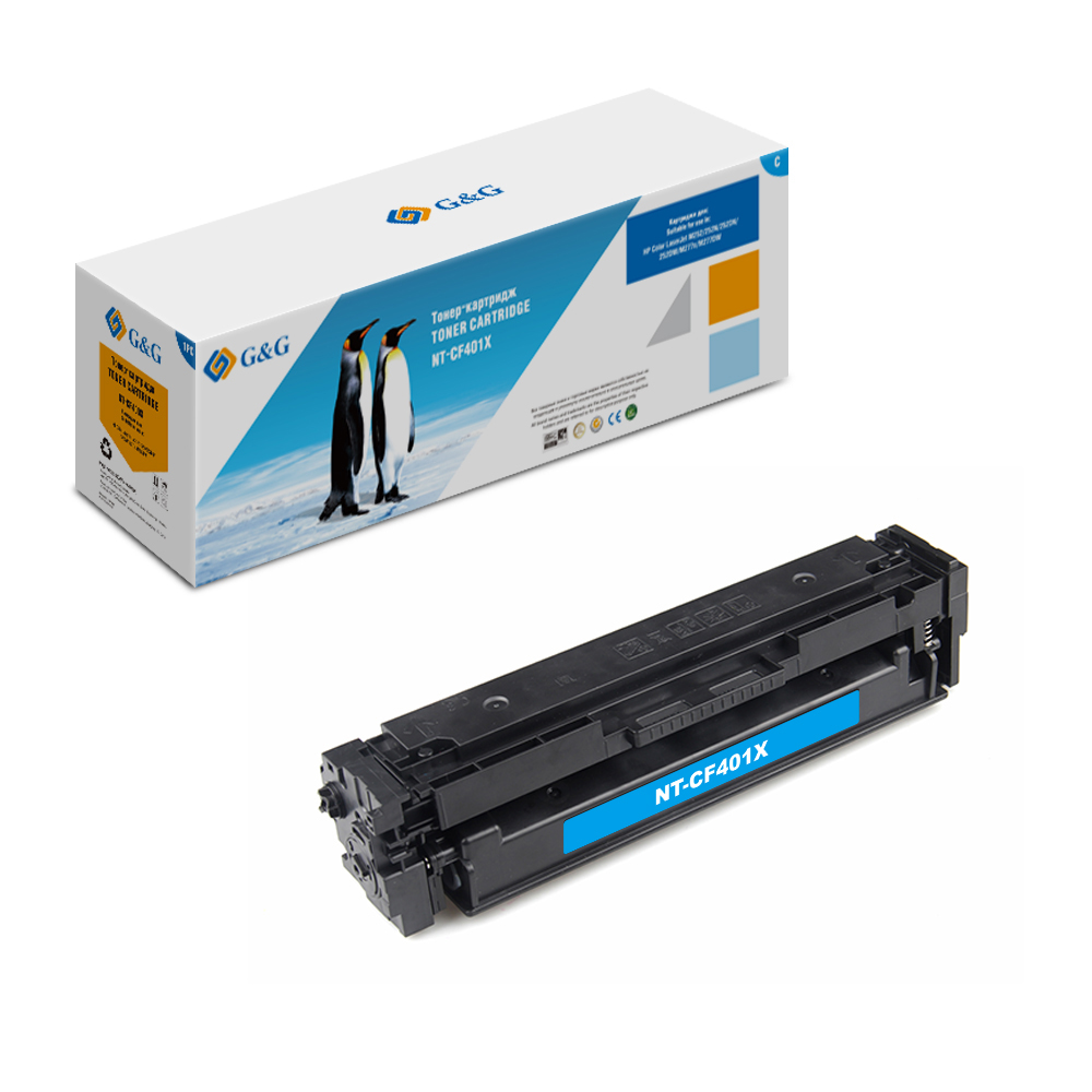 Computer Office Office Electronics Printer Supplies Ink Cartridges G&G NT-CF401X for HP LaserJet Color M252 /n/dn/dw M277n/dw