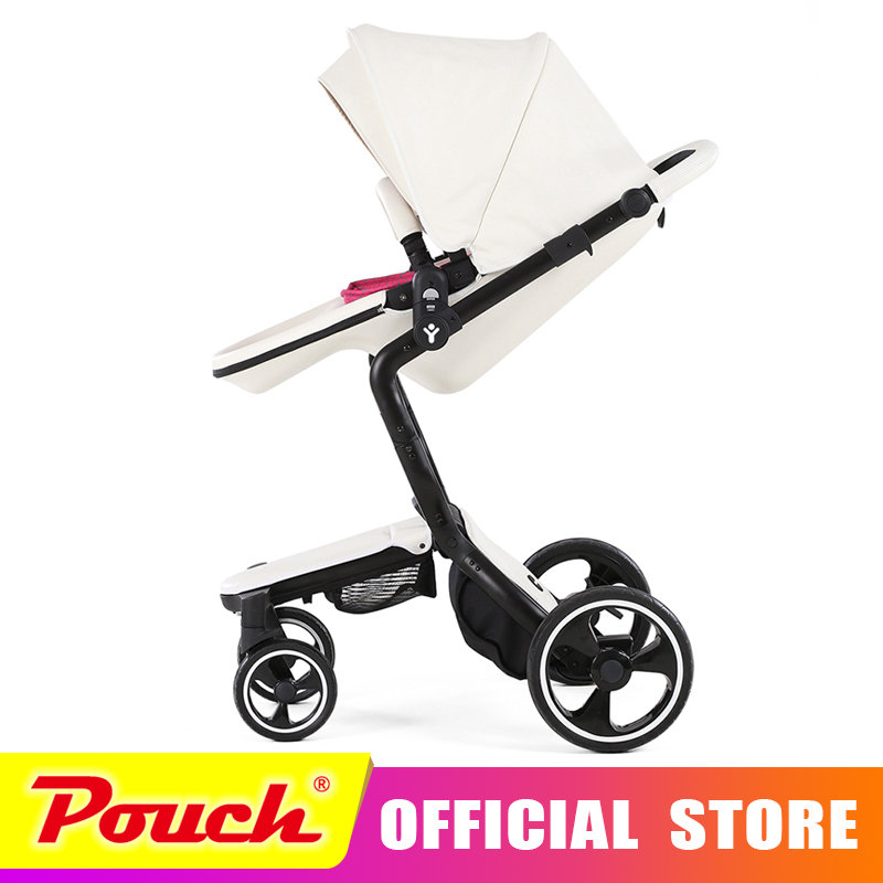 foofoo Luxury high landscape shock strollers can sit reclining stroller baby stroller two-way dual summer and w inter