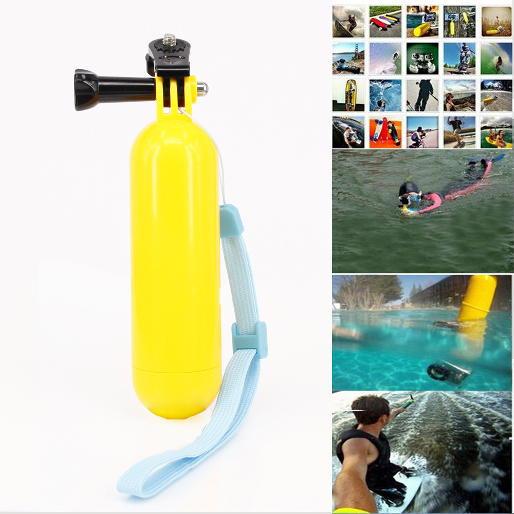 Sports Camera Floaty Floating Hand Grip Handle Mount Accessory + Strap For Sony Action Cam HDR AS20 AS15 AS100V AS30V AZ1